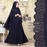 Gamis syari set lyra virna collection 7