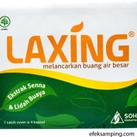 LAXING 4s Obat Untuk Lancar BAB