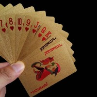 Kartu Remi Emas Golden Poker Game Card