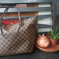 LV Louis Vuitton Neverfull Damier Authentic Branded Tote Bag - SOLD