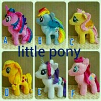 Boneka My Little Pony Ponny Kuda Poni Size XL