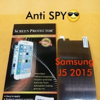 Anti Gores Screen Protector SPY Hitam For Samsung Galaxy J5 2015