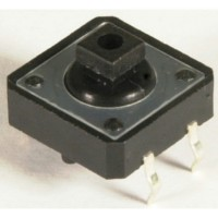 Tactile Switch 12mm x 12mm x 4mm 4 Kaki Omron Model