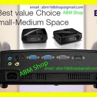 Projector BenQ ms506 SVGA 3200 Lumens s-video New DLP Proyektor Resmi