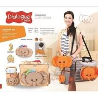 Dialogue Baby Tas Perlengkapan Bayi 3 in 1 Besar + Tas Kecil DGT 7119