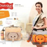 Dialogue Baby Tas Perlengkapan Bayi + Tempat Botol DGT - 7118