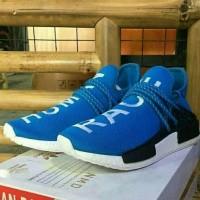 Sepatu Sneakers Adidas Human Race Biru Unisex Murah