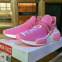 Sepatu Sneakers Adidas Human Race Pink Unisex Murah