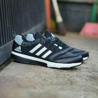 Sepatu Sneakers Adidas Climacool Hitam Cowok Cewek Murah