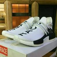 Sepatu Sneakers Adidas Human Race Putih Unisex Murah