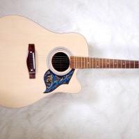 Gitar akustik yamaha / jumbo / bonus tas senar