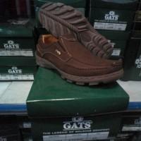 Sepatu Pria Gats Original Casual/ Sepatu Gats Santai Kulit Asli