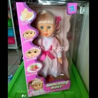Mainan anak Perempuan boneka Susan Walking doll baby lovely bayi lucu