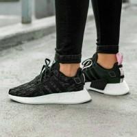 Sneakers Adidas NMD R2 Black Core Pink Premium Keren
