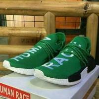 Sepatu Sneakers Adidas Human Race Unisex Hijau Murah Premium