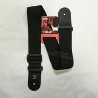 Strap Gitar & Bass Daddario Woven Strap PWS-100 Hitam