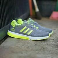 Sepatu Sneakers Adidas Climacool Hijau Cowok Cewek Murah