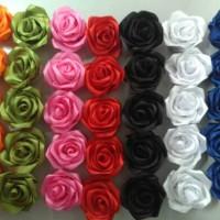Bros mawar satin ukuran 4 cn