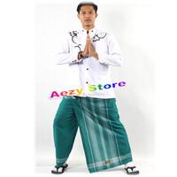 Celana Sarung Anak & Dewasa Wadimor & Bin Affan Hijau