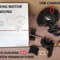 E03C LED Cree 20w Worklight USB Charger Lampu Sorot Tembak Terang Puti