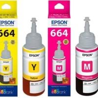 Epson 664 BK,C,M,Y Original Ink -For L210,L210