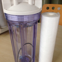 HOUSING FILTER + CARTRIDGE FILTER 10inc TRANSPARAN