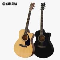 Gitar Akustik Yamaha Original FS100C Asli Plus Softcase