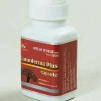 Ganoderma Plus Green World Original-Obat Kanker-Jamur Ling Zhi