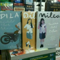 tiga novel dilan(dilan 1,dilan 2 milea)