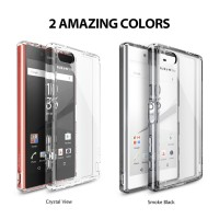 HARDCASE BACK COVER SONY XPERIA Z5 COMPACT CASING SOFT RINGKE FUSION