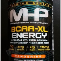 NEW STOCK - MHP BCAA XL Energy TANGERINE 300 Grams 30 serving - jeruk