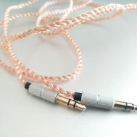 laris DIY Kabel M2M Crystal Copper AUX Cable 3.5mm Male to Male 1M