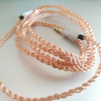 DIY Kabel M2M Crystal Copper AUX Cable 3.5mm Male to Male 1M