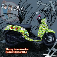 Original Premium Decal Striping YAMAHA FINO All Series Free Custom KP1