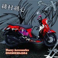Original Premium Decal Striping YAMAHA FINO All Series Free Custom S1