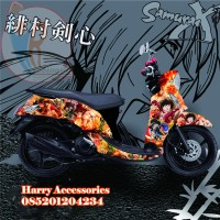 Original Premium Decal Striping YAMAHA FINO All Series Free Custom PC1