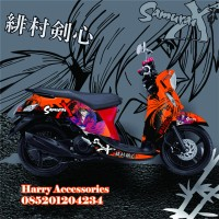 Original Premium Decal Striping YAMAHA FINO All Series Free Custom S2