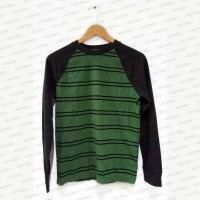 Classic Green Stripes Sweater