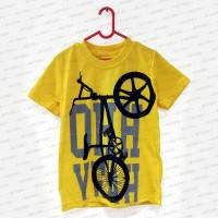 Kaos Anak Oshkosh B'gosh 6th Yellow Bike