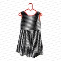 Cat & Jack Classic Stripe Dress Anak Perempuan