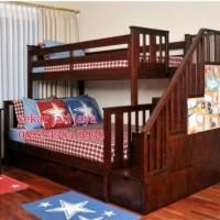 Dipan tingkat kamar anak tempat tidur bunkbed jepara bisa custom