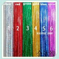 Backdrop Foil Size 2x2M / Tirai Foil Size 2x2 / Perlengkapan Pesta