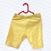 Short Yellow Legging for Kids