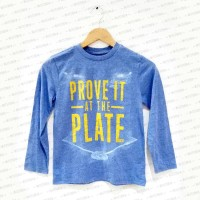 Baseball Theme Blue Misty Shirt