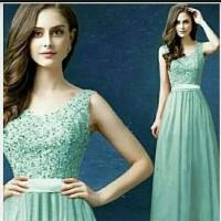 Green Blink Pamela Long Dress
