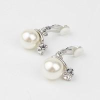 Pearl Clip Earring / Anting Jepit / Anting Fashion Korea / Wanita