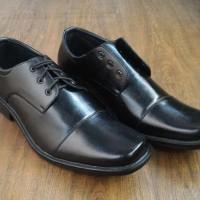 Sepatu Kerja Pantofel Kantor Black Big Size 44 & 45 Ultimate Black