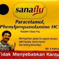 Sanaflu Paracetamol 4s