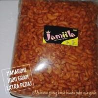 makaroni 1000gr/makroni 1kg/ori/pedas/extra pedas/jeruk/snack/murah