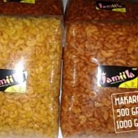 makaroni 500gr/makroni/original/pedas/extra pedas/daun jeruk/snack